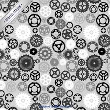 Gear Pattern Cool Gear Pattern Vector Free Download
