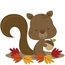 Image result for squirrel clipart clipart