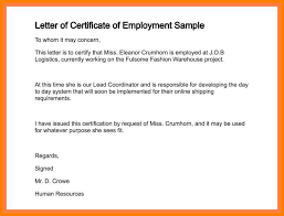 Collection Of Solutions Sample Request Letter For Employment