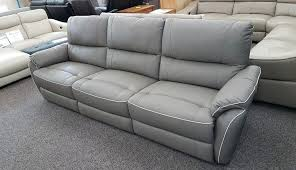 grey leather power reclining sectional sofa natuzzi costco