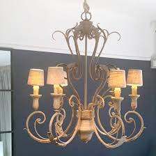 Chandelier Languedoc Im Antik Finish