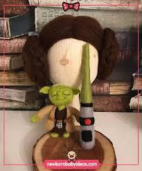Star Wars Yoda character felt toy | Felt toys, Newborn baby photography,  Star wars yoda