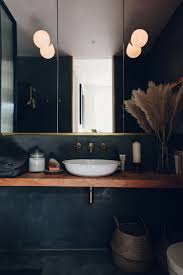 black bathroom.  Black The London Apartment Bath Of Architects Bentley Hagen Hall Is Finished In  Tadelakt A Traditional On Black Bathroom
