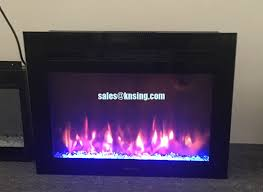 26 insert electric fireplace heater recessed rv fireplace if 1326 colorful flame