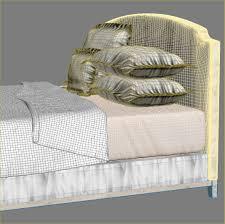 Mitchell Gold Bedroom Furniture Mitchell Gold And Bob Williams Nina Bed 3d Model Max Obj Fbx