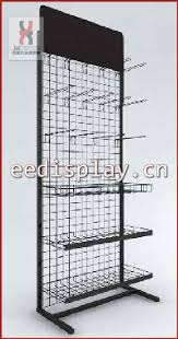 In Store Display Stands Supermarket Metal Cushion Display Stand For Sales Promotion 8