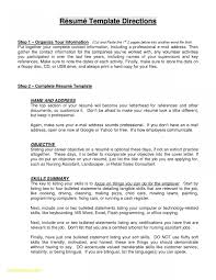 Graduate School Resume Objective Statement Examples Download Medical