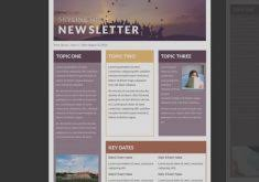professional newsletter templates for word collection of monthly newsletter template for teachers templates