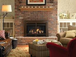 7 Brick Wall Fireplace Accessories A Living Room Idea With Modern  Look Light Brown