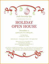 Christmas Invitation Template Custom Awesome Open House Invitation Template Evaluationessay
