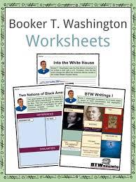 booker t washington worksheets