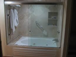 fiesta americana cancun villas jacuzzi tub and shower enclosure