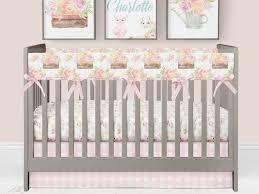 girl crib bedding baby girl farm