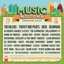 10, 2020 in historic adair park in southwest atlanta. Music Midtown 2016 In Atlanta Ga Everfest Music Midtown Music Midtown Atlanta Music