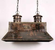 handmade solid copper replica vintage smithy pendant lamp