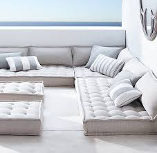 floor cushions. Interesting Floor Restoration Hardware  Tufted French Floor Cushions Throughout C