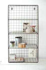 architecture and interior unique chic wall mounted wire shelving units shelves design in from appealing shelf