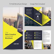 Business Tri Fold Brochure Design Template For Free Download