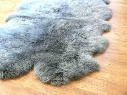 gray sheepskin rug lovely gray sheepskin rug sheepskin rug quad grey grey sheepskin rug lovely gray