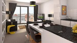 Kitchen Sitting Room Apartment Kitchen Decorating Fresh Fuss Free Living Rooms
