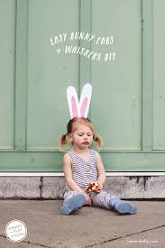 Small Picture DIY EASTER BUNNY FACE PAINT EARS RAE ANN KELLY