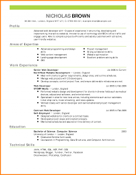Stay At Home Mom Returning To Work Resume Resume Format Samples Web Developer Example Emphasis Expanded 11