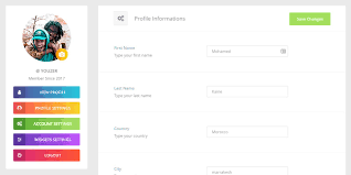 User Profile Design In Bootstrap Youzer Wordpress Plugin Review Buddypress Community And
