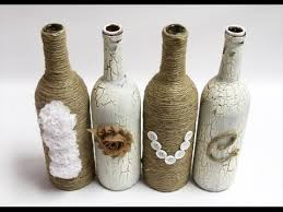 Wine Bottles Decoration Ideas 100 DIY Wine Bottle Decoration Ideas YouTube 11