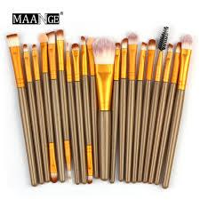 20pcs set makeup brush set tools make up toiletry kit wool make up brush set