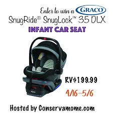graco infant car seat giveaway