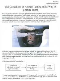 essays on animals rights animal rights argumentative essay sample essaybasics