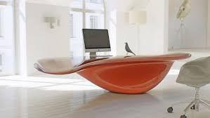 futuristic office desk. Gallery Of Astonishing Futuristic Bright Office Desk L