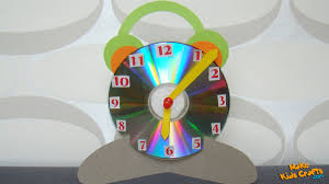 Kids Craft Clock Kids Crafts Youtube