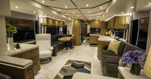 Incredible interior design ideas for your rv camper Camper Van Regal Furnishing Incredible Multimilliondollar Motorhomes Cbs News