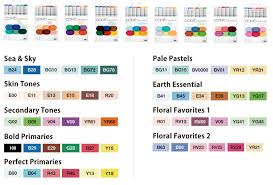 Copic Chart Printable Copic Sketch Copic Official Site English