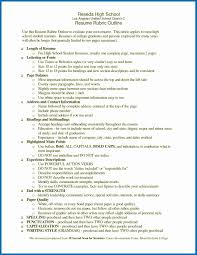 Scholarship Resume Outline Scholarship Resume Samples High School Unique High School