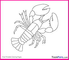 Inspirational Lobster Coloring Page 99 About Remodel Free ...