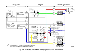 honeywell thermostat t8411r wiring diagram honeywell thermostat 4 wire thermostat at Thermostat Wiring Color Code