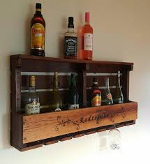 pallet wine rack. Pallet Rustic Wine Rack In Wood Burned Design