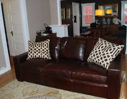 Leather Couch Restoration Restoration Hardware Leather Sofa Used Tehranmix Decoration