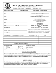 Registration Form Template Word Free Registration Form Template 9 Free 39897600037 Enrollment Form