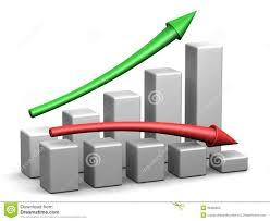 profit loss graph profit and loss graph stock illustration illustration of