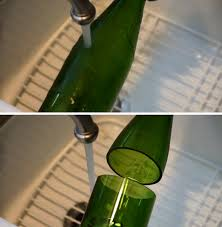 DIY Wine Bottle Glass Inspiration | https://diyprojects.com/diy-