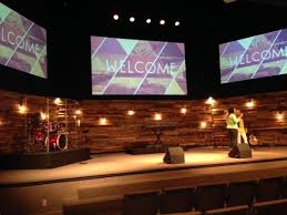 Church Stage Design Ideas re purposed wood pallets for church worship stage