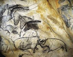 a frieze of horses and rhinos near the chauvet cave s megaloceros gallery where artists may have gathered to make charcoal for drawing