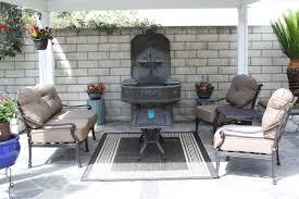 mandalay cast aluminum powder coated 5pc outdoor patio deep seating set antique bronze