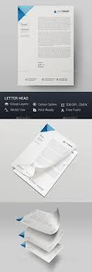 8 Best Letterhead Design Images On Pinterest Letterhead Template