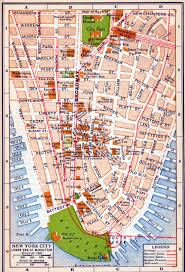 download map of manhattan nyc  major tourist attractions maps
