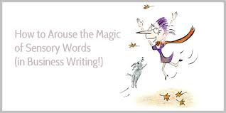 Words With Photo The Magic Of Sensory Words With A List Of 75 Example Phrases