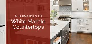 alternatives to white marble countertops gallery